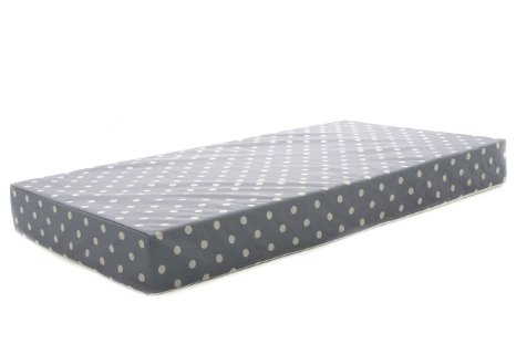 MILLIARD 100% Hypoallergenic Memory Foam Crib Mattress 27.5x52x5.5