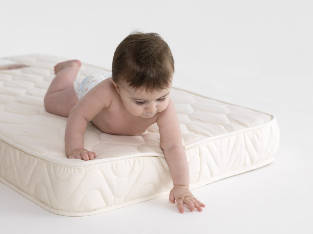 LA Baby Naturally Organic III Crib Mattress