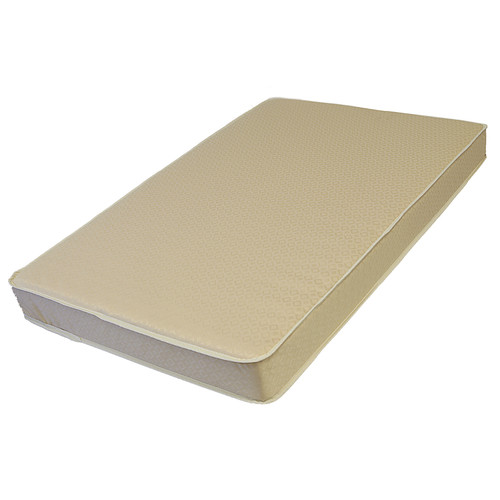 LA Baby Organic Cotton Layer Mini Crib Mattress
