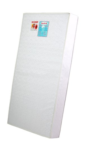 "Dream On Me 6"" Full Size Firm Foam Crib and Toddler Bed Mattress"