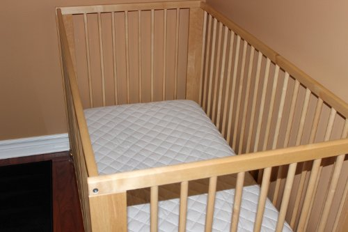 """Dream On Me 6"""" Full Size Firm Foam Crib and Toddler Bed Mattress"""